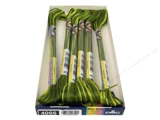 DMC Floss: DMC Color Variations Floss 8.7 yd. #4066 Amazon Moss (6 skeins)