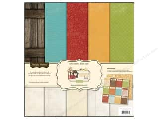 Simple Stories Basics Kit 12x12 Harvest Lane