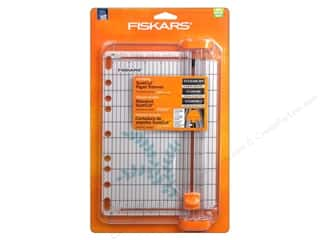 Paper Trimmers / Paper Cutters $5 - $10: Fiskars SureCut Card Making Paper Trimmer 9 in.