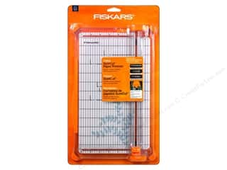 Paper Trimmers / Paper Cutters Borders: Fiskars SureCut Deluxe Craft Paper Trimmer 12 in.