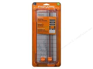 Wood Scrapbooking & Paper Crafts: Fiskars SureCut Scrapbooking Paper Trimmer 12 in.