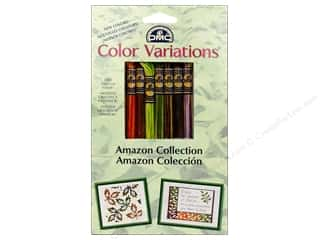 embroidery floss: DMC Color Variations Floss Pack 8 pc. Amazon Collection