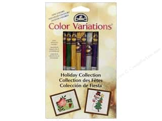 Tenderberry Stitches: DMC Color Variations Floss Pack 8 pc. Holiday Collection