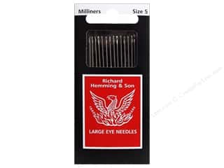 Hemming Needle Milliners/Straw Size 5 20pc (3 packages)