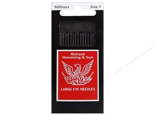 Hemming Needle Milliners/Straw Size 7 20pc (3 packages)