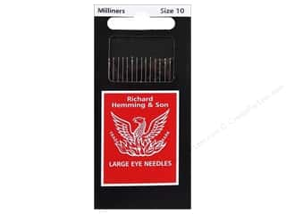 Hemming: Hemming Needle Milliners/Straw Size 10 20pc (3 packages)