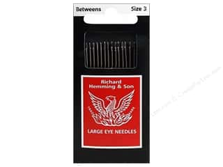 Hemming: Hemming Needle Quilting/Betweens Size 3 16pc (3 packages)