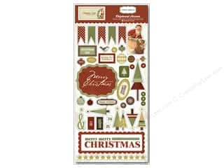 "Carta Bella Chipboard 6""x 12"" Christmas Day"