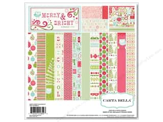 Carta Bella Collection Kit 12x12 Merry &amp; Bright