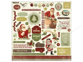 Carta Bella Sticker 12x12 Christmas Day Element (15 piece)