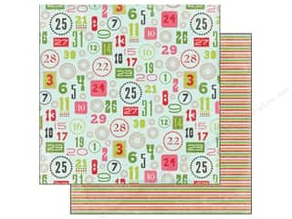 Carta Bella $5 - $15: Carta Bella 12 x 12 in. Paper Merry & Bright Christmas Countdown (25 pieces)