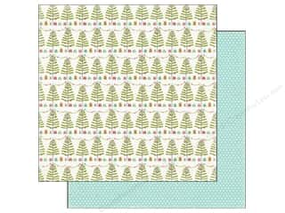 Carta Bella Paper 12x12 Merry & Bright Tinsel Tree (25 piece)