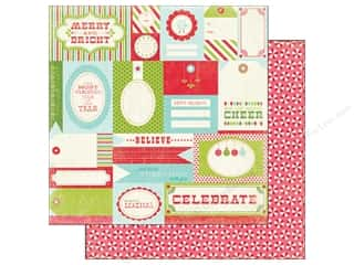 Carta Bella 12 x 12 in. Paper Merry Tags (25 piece)