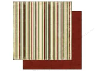 Carta Bella Paper 12x12 Christmas Day Stripe (25 piece)