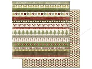 Holiday Sale Designer Papers &amp; Cardstock: Carta Bella Paper 12x12 Christmas Day Borders (25 piece)