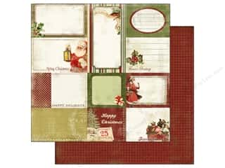 Carta Bella Paper 12x12 Christmas Day Xmas Cards (25 piece)