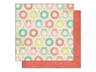 Holiday Sale Designer Papers &amp; Cardstock: Crate Paper 12 x 12 in. Sleigh Ride Happy Holidays (25 piece)