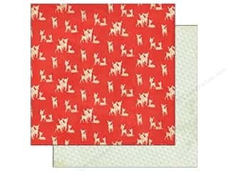 Crate Paper 12 x 12 in. Sleigh Ride Rudolph (25 piece)