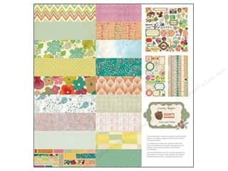 phrase stickers: Crate Paper Collection Pack 12x12 Acorn Ave