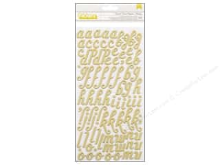 Thickers Alphabet Stickers Crate Paper Acorn Ave Custard Green