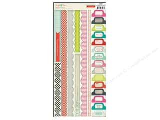 Crate Paper Stickers Sleigh Ride Border