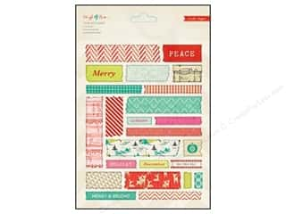 Crate Paper Stickers Sleigh Ride Tape