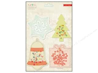Crate Paper Sleigh Ride Sequin Vellum Shapes