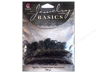 Cousin Corporation of America $5 - $6: Cousin Findings Jump Ring 4/6mm Open/Close Black 400pc