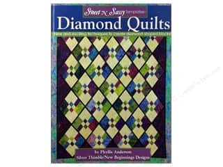 Landauer Quilt Books: Landauer Sweet N Sassy Template Diamond Quilts Book