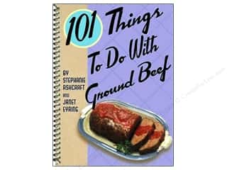 Cooking/Kitchen Gifts & Giftwrap: Gibbs-Smith 101 Things To Do With Ground Beef Book by Stephanie Ashcraft and Janet Eyring