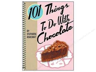 Cooking/Kitchen Black: Gibbs-Smith 101 Things To Do With Chocolate Book