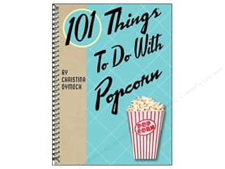 Gibbs Smith Publishing Brothers: Gibbs-Smith 101 Things To Do With Popcorn Book