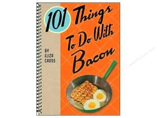 Cooking/Kitchen Gifts & Giftwrap: Gibbs-Smith 101 Things To Do With Bacon Book