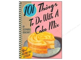 Cooking/Kitchen Gifts & Giftwrap: Gibbs-Smith 101 Things To Do With A Cake Mix Book