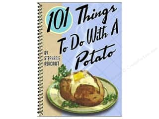 Favorite Things Clearance Patterns: Gibbs-Smith 101 Things To Do With A Potato Book