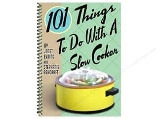 Cooking/Kitchen Gifts & Giftwrap: Gibbs-Smith 101 Things To Do With A Slow Cooker Book