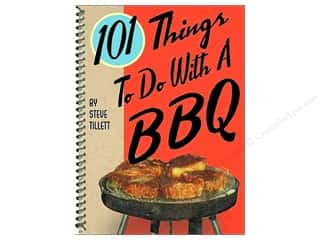Cooking/Kitchen Gifts & Giftwrap: Gibbs-Smith 101 Things To Do With A BBQ Book