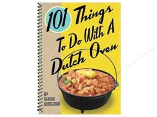 Cooking/Kitchen Books & Patterns: Gibbs-Smith 101 Things To Do With A Dutch Oven Book
