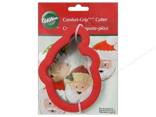 Wilton Cookie Cutter Comfort Grip Santa Claus