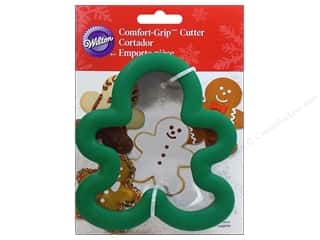 Wilton Cookie Cutter Comfort Grip Gingerbread Boy