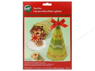 Wilton Containers Treat Box Holiday Tree 4pc