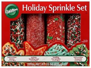 Wilton Holiday Sprinkles Set 18oz 4pc