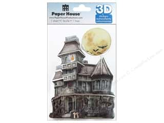 Paper House Sticker 3D Haunted House