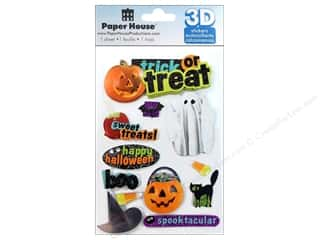PaperHouse: Paper House Sticker 3D Trick Or Treat