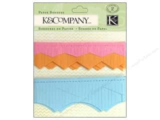 Borders Papers: K&Company Embellishments Paper Borders Beyond Postmarks