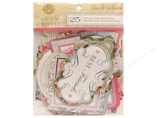 Anna Griffin Die Cut Camilla Titles Tags Quotes