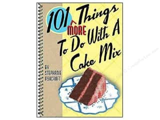 Cooking/Kitchen Gifts & Giftwrap: Gibbs-Smith 101 More Things To Do With A Cake Mix Book