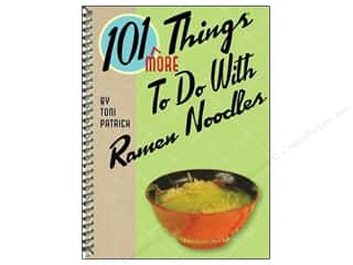 Cooking/Kitchen Gifts & Giftwrap: Gibbs-Smith 101 More Things To Do With Ramen Noodles Book