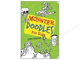 Gibbs Smith Publishing Activity Books / Puzzle Books: Gibbs-Smith Monster Doodles For Kids Book