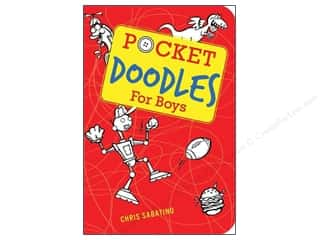 Gibbs Smith Publishing Activity Books / Puzzle Books: Gibbs-Smith Pocketdoodles For Boys Book